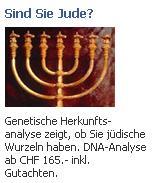 """Facebookwerbung """"sind sie jude"""""""