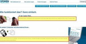 doyoupoken.com Screenshot Mehrsprachigkeit