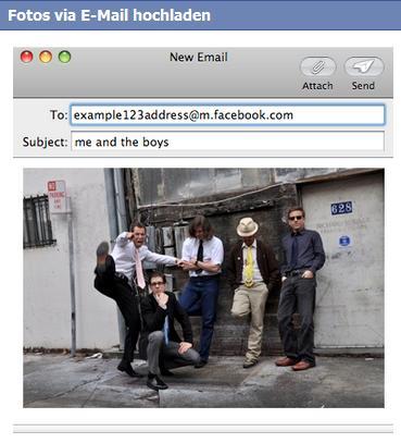 Facebook Mobile Photo Upload
