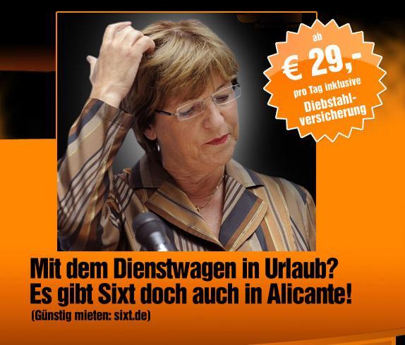 SIXT - Ulla Schmidt