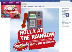 skittles.com - Facebook Fan Page