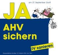 JA AHV sichern - IV sanieren