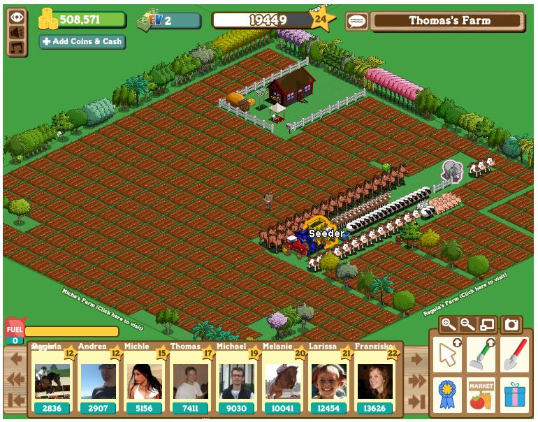 FarmVille Screenshot