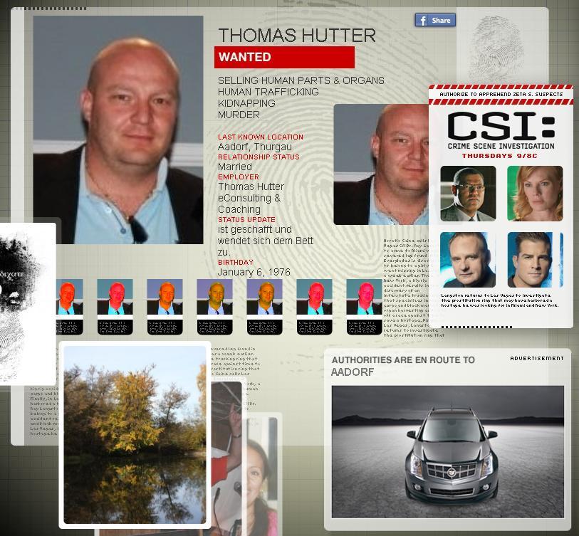 "CSI Promotion ""User Akte"""