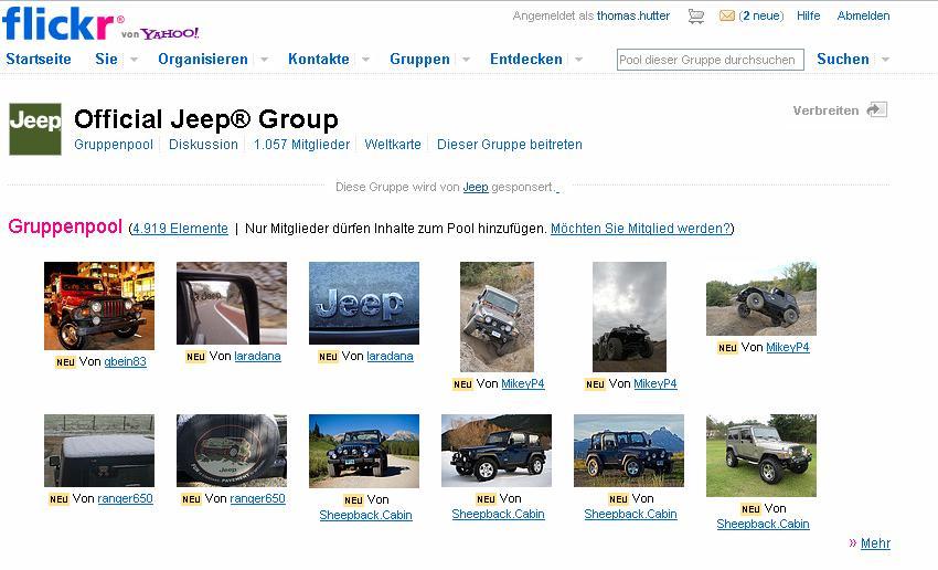 Jeep auf Flickr