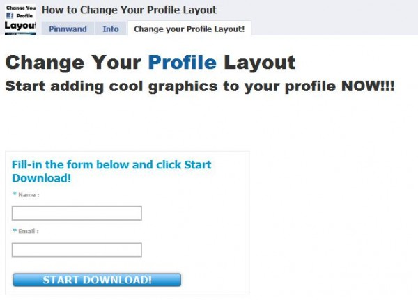 Facebook Scam Email