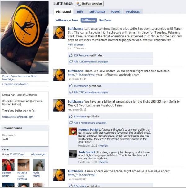 Lufthansa Fanpage