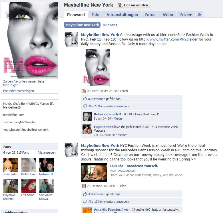 Maybelline New York Fanpage