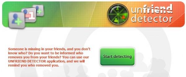 Unfriend Detector