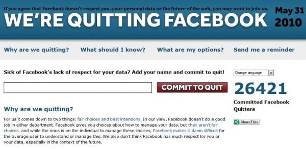 Quit Facebook Day