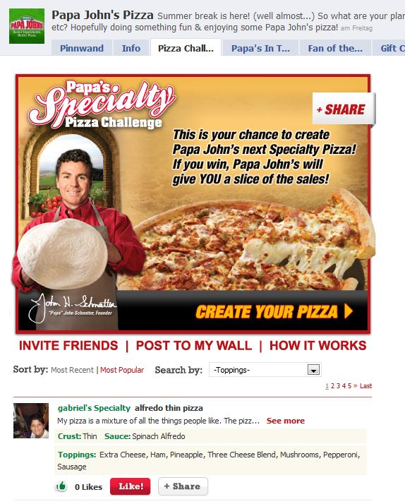 Papa's Specialty Pizza Challenge
