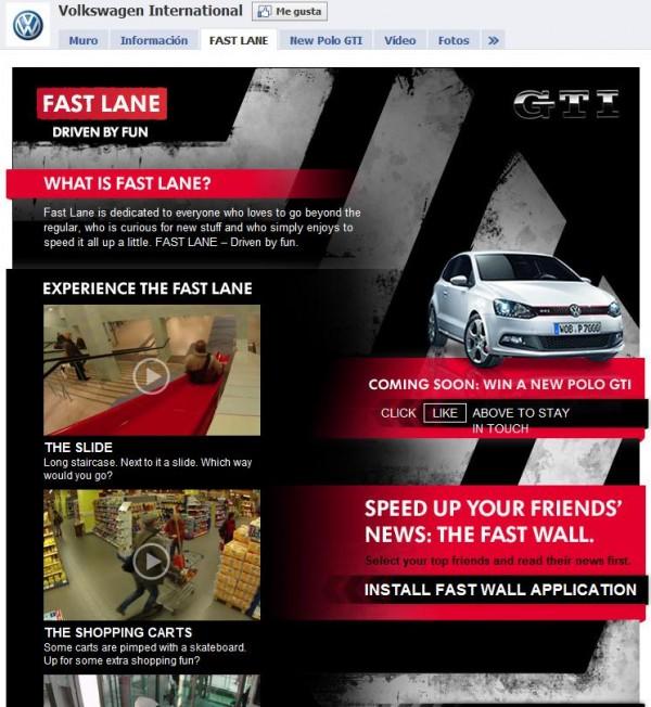 VW Polo GTI Markeinführung nur in Facebook