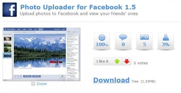 Photo Uploader for Facebook