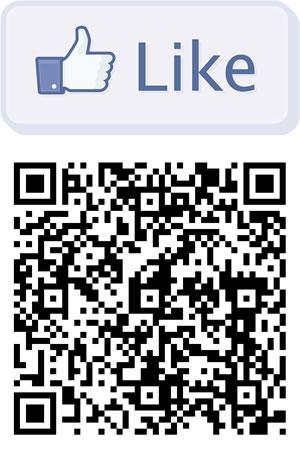 Beispiel QR-Code für facebook.com/thomashutterblog
