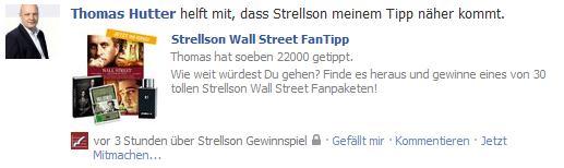 Pinnwandbeitrag Strellson WallStreet