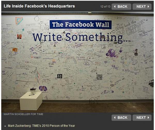 Life Inside Facebook's Headquarter (Quelle: time.com)