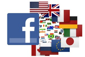 Multinationale Facebook Seiten