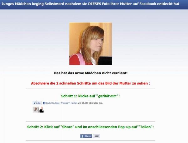 Facebook SCAM pic.skandalportal.info