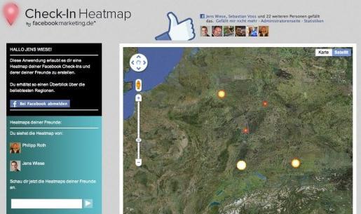Check-In Heatmap