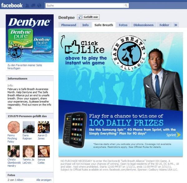 Dentyne's Safe Break Alliance Pop N'Play