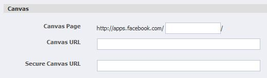 Einstellungen bei Facebookapplikationen für die Nutzung mit und ohne HTTPS