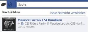 Benachrichtigung einer Seitenaktualisierung auf Facebook