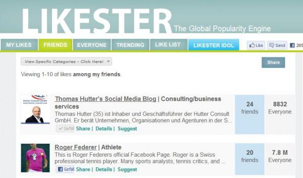 Friends auf Likester.com