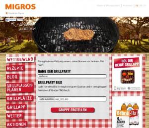 Migros Grillparty Wettbewerb