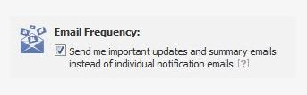 Zusammenfassung von Benachrichtigungen reduziert E-Mail-Flut