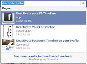 Verschiedene SCAM's zur Facebook Timeline