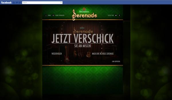 Heineken wir schreiben ne Serenade - Sharing