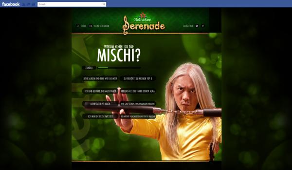 """Heineken wir schreiben ne serenade: """"Warum stehst Du auf XYZ?"""""""