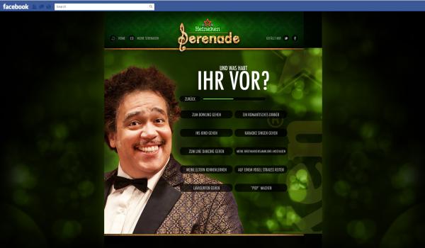 """Heineken wir schreiben ne serenade - """"Und was habt ihr vor?"""""""