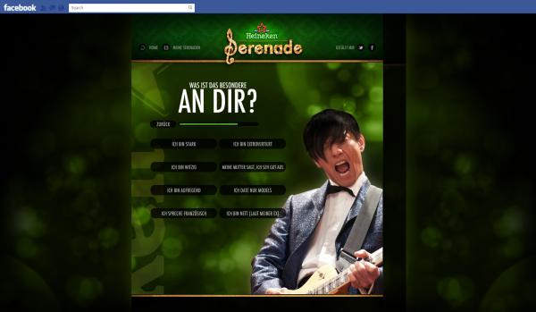"""Heineken wir schreiben ne serenade - """"Was ist das besondere an dir?"""""""