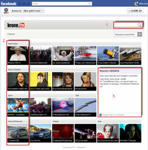 Krone Social TV App