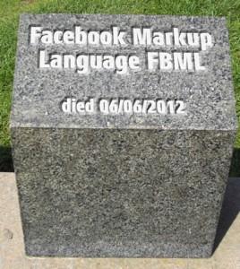FBML ist tot