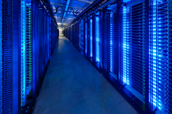 Facebook Datacenter (Quelle: Facebook)