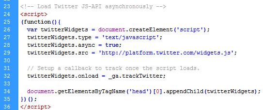 Aufruf der Twitter API