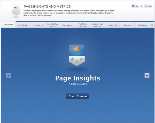 Page Insights and Metrics - Introduction