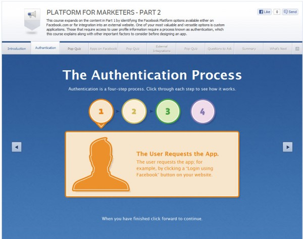 Platform for Marketers - Part 2 - Authentication
