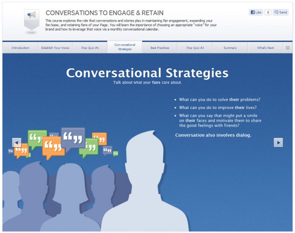 Conversations To Engage & Retain - Conversational Strategies