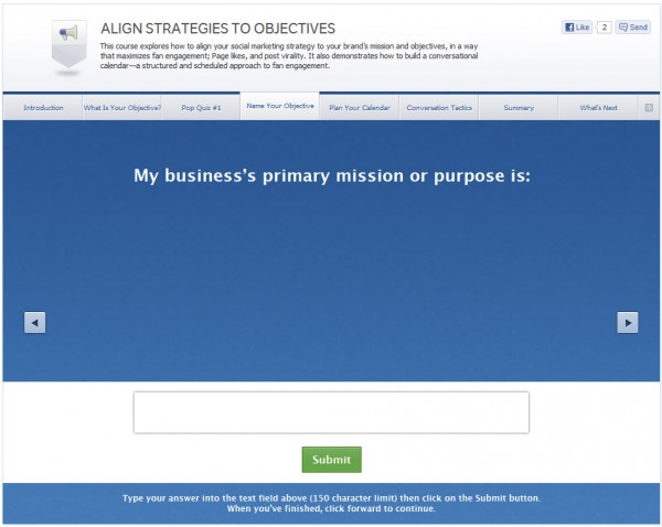 Align Strategies to Objectives - Name Your Objective