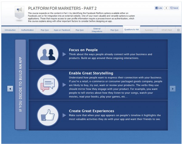 Platform for Marketers - Part 2 - Questions to Ask
