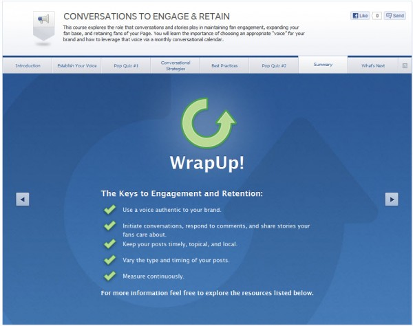 Conversations To Engage & Retain - Summary