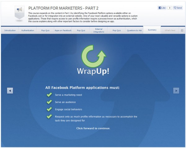 Platform for Marketers - Part 2 - Summary
