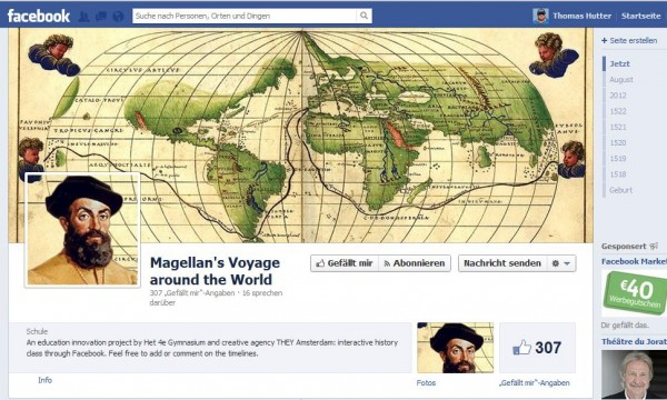 Magellan's Voyage around the World