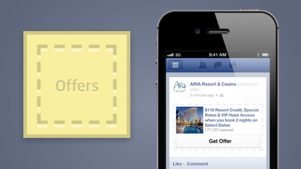 Facebook Offers / Angebote