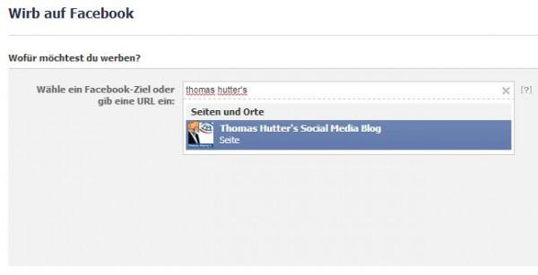 Facebook Ads erstellen - Schritt 1 - Objektauswahl