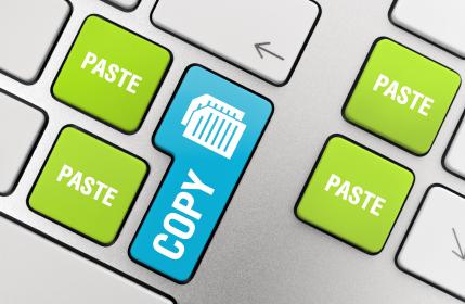 Copy - Paste (istockphoto.com)