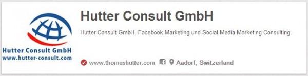 Beispiel eines verifizierten Accounts bei Pinterest